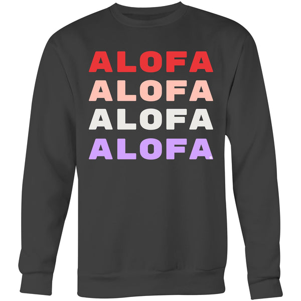 Alofa Love United - Crew Sweatshirt - Measina Treasures of Samoa