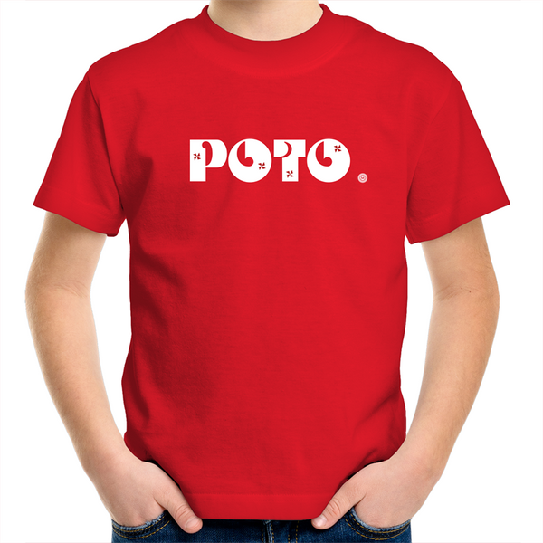 Poto AS Colour Kids Youth Crew T-Shirt - Measina Treasures of Samoa