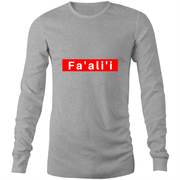 Faalii AS Colour Base Long Sleeve T-Shirt - Measina Treasures of Samoa