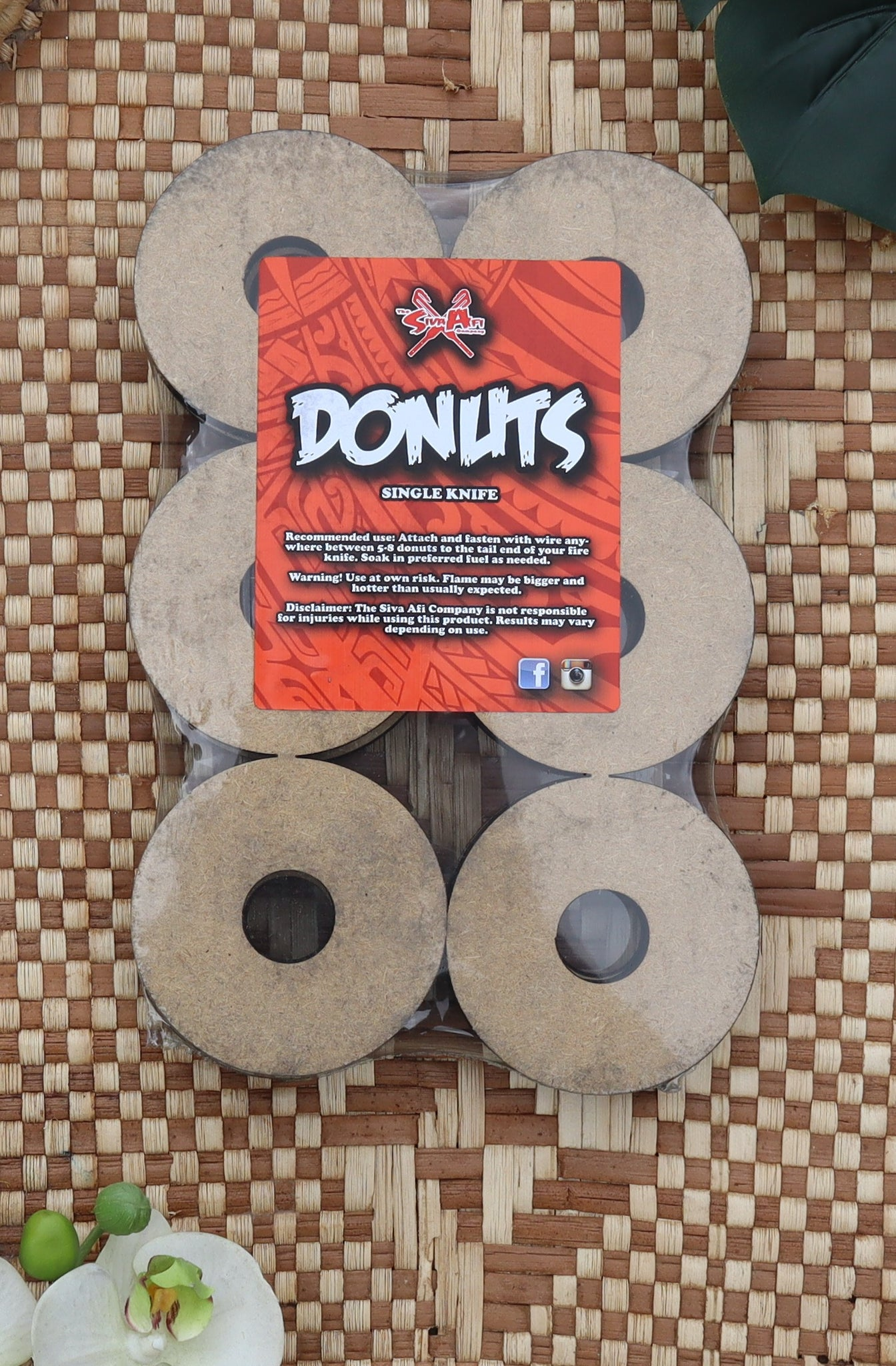 Donuts Single Knife Size - Measina Treasures of Samoa