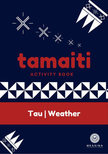 Tamaiti Weather Activity Book - Measina Treasures of Samoa