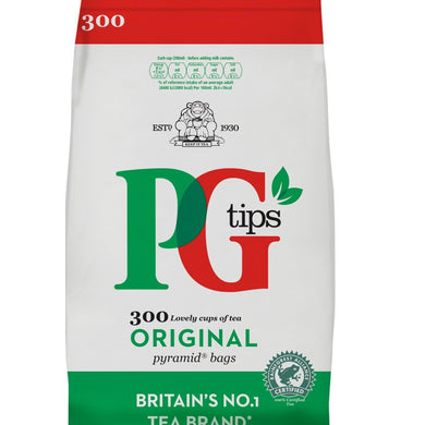 Te negro en bolsitas PG Tips | Black tea bags PG Tips 300 bags