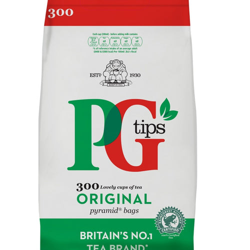 Te negro en bolsitas PG Tips | Black tea bags PG Tips