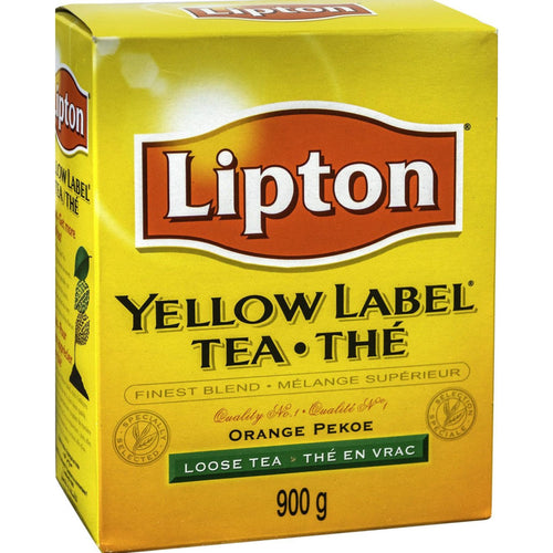 Te negro hoja suelta Lipton Yellow Label | Loose leaf Tea Lipton Yellow Label