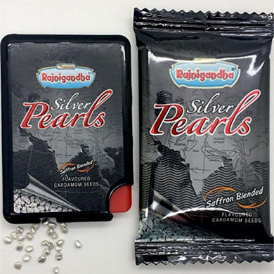 Masticable Digestivo refrescante | Mouth Freshener Silver Pearls Rajnigandha 1.60g