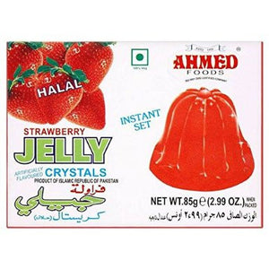 Gelatina de Fresa | Strawberry Jelly Ahmed 85g