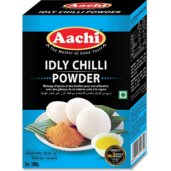 Especias para Idli y Dosa | Spicy Powder for Idli y Dosa, Aachi 200g