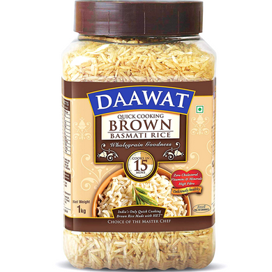 Arroz integral Basmati | Brown Basmati Rice Daawat 1kg