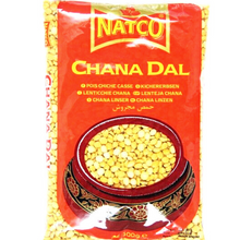 Load image into Gallery viewer, Garbanzos partidos (Cicer arietinum) | Split Chickpeas | Chana dal Natco - 500g