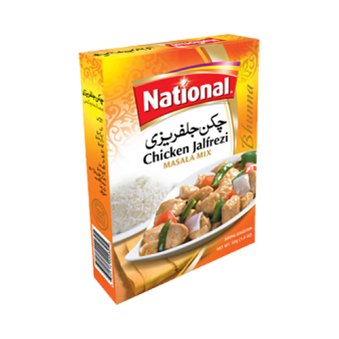 Especias para Pollo Jalfrezi | Spice Mix For Chicken Jalfrezi | 140g- National