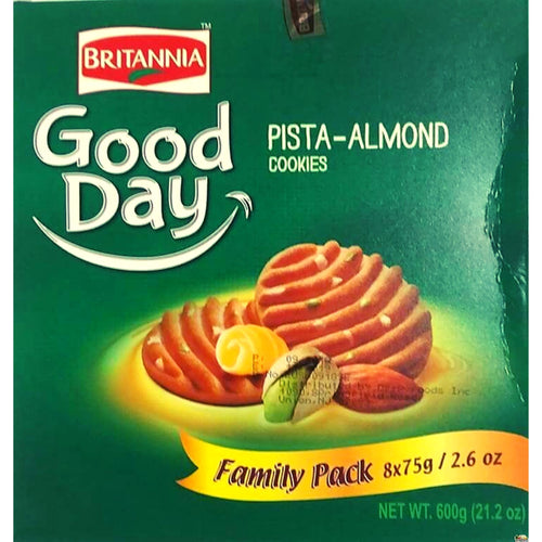 Galletas de pistacho y almendra | Britannia Good Day Pista Almond Cookies
