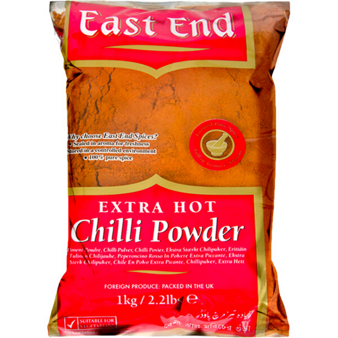 Chile en Polvo extra picante | Extra Hot Chilli Powder East End 1kg