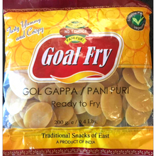 Load image into Gallery viewer, Pani Puri For Fry Golcappa Goal Fry 200g