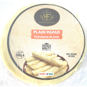 Papadum | Plain Papadam 200g HF