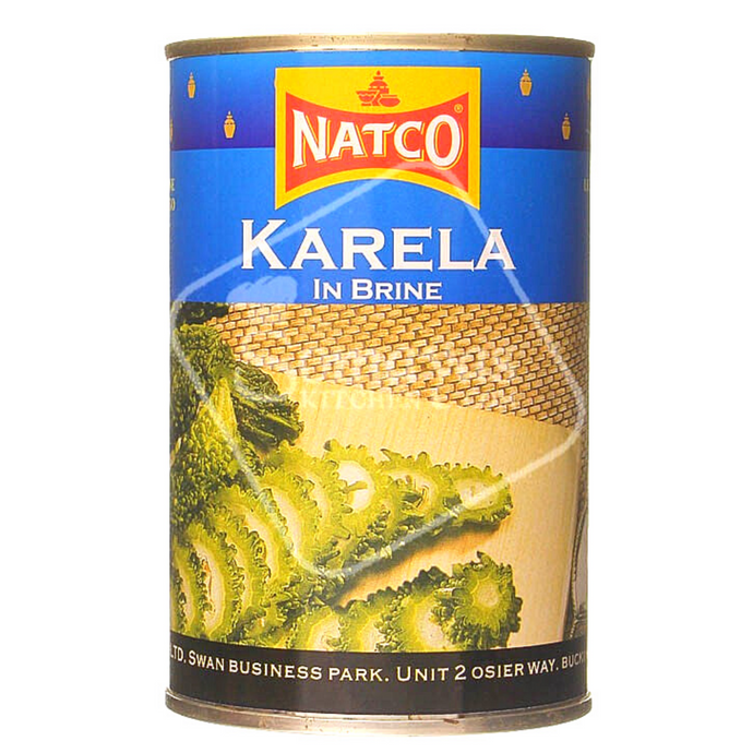 Melón Amargo (enlatado al natural) | Karela (in water) tin Natco 400g