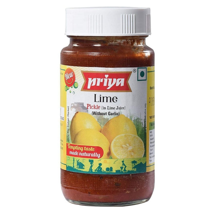 Pickle de Lima (encurtido) | Lime pickle 300g Priya