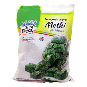 Hojas de Fenogreco | Methi Blocks (Fenugreek) | Vadilal-312g