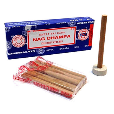 Incienso Stick | Nag Champa 10 Dhoop Sticks