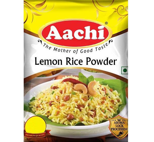 Especias para Arroz al limon | Lemon Rice Powder Aachi
