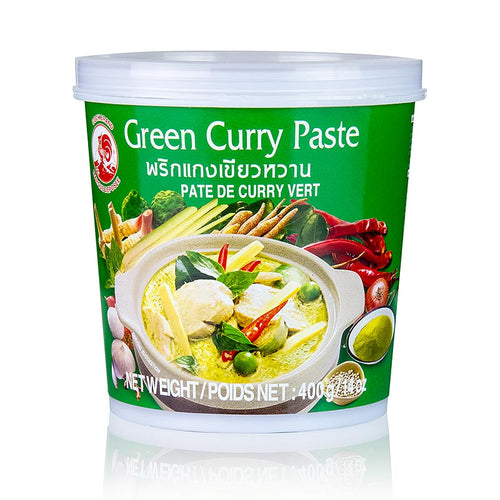 Pasta de Curry Verde Tailandes | Thai Green Curry Paste 400g