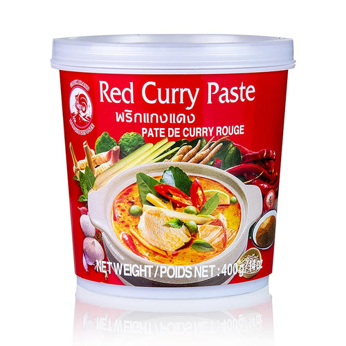 Pasta de Curry Rojo Tailandes | Thai Red Curry Paste 400g