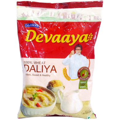 Trigo Triturado (Bulgur) | Crushed Wheat | Daliya/Dalia DEVAAYA 500g