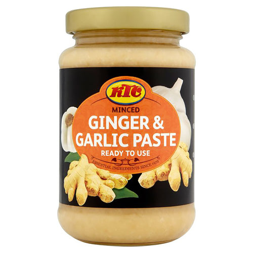 Pasta de jengibre y ajo  |  Ginger garlic paste 210g