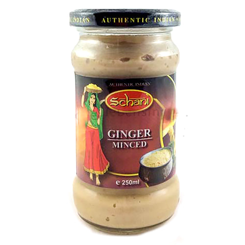 Pasta de gengibre | Minced Ginger paste Schani 250ml