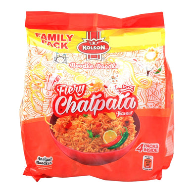 Fideos con sabor a chatpata | Chatpata Flavour Noodles Kolson 260g (4packs)