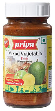 Pickle de vegetales mixto (encurtido) | Mixed pickle 300g Priya