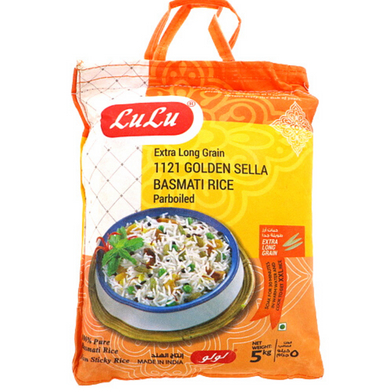 Arroz Basmati Sella