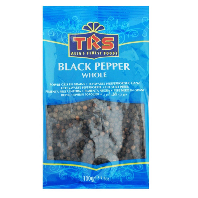 Pimienta Negra entera | Black Pepper Whole TRS 100g