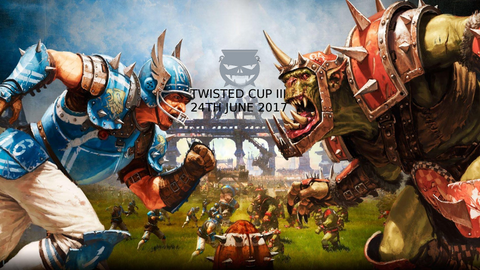 Twisted Cup 3 Bloodbowl NAF Approved, 1 Day tournament
