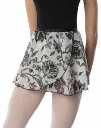 Danz-N-Motion Floral Skirt
