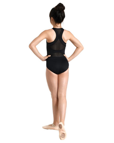 DanzNmotion Zip Front Racer Back Leotard (Child)