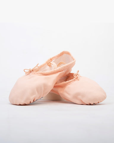 Basic Canvas Split Sole Ballet Slipper
