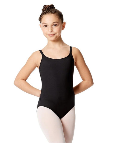 Lulli Girls Camisole Double Crisscross Leotard Veronica