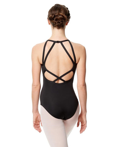 Lulli Halter Neck Leotard Taliana