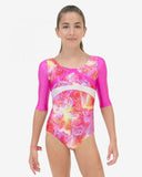 Capezio Gymnastic 3/4 Sleeve Leotard