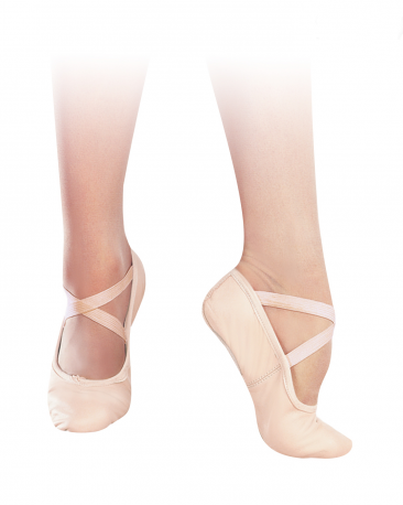 Sansha No. 8 Entrechat Leather Split Sole Ballet Shoes