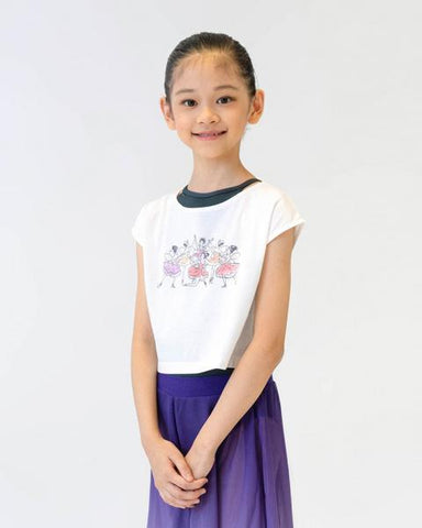 Sonata Fairies Children's Crop Top
