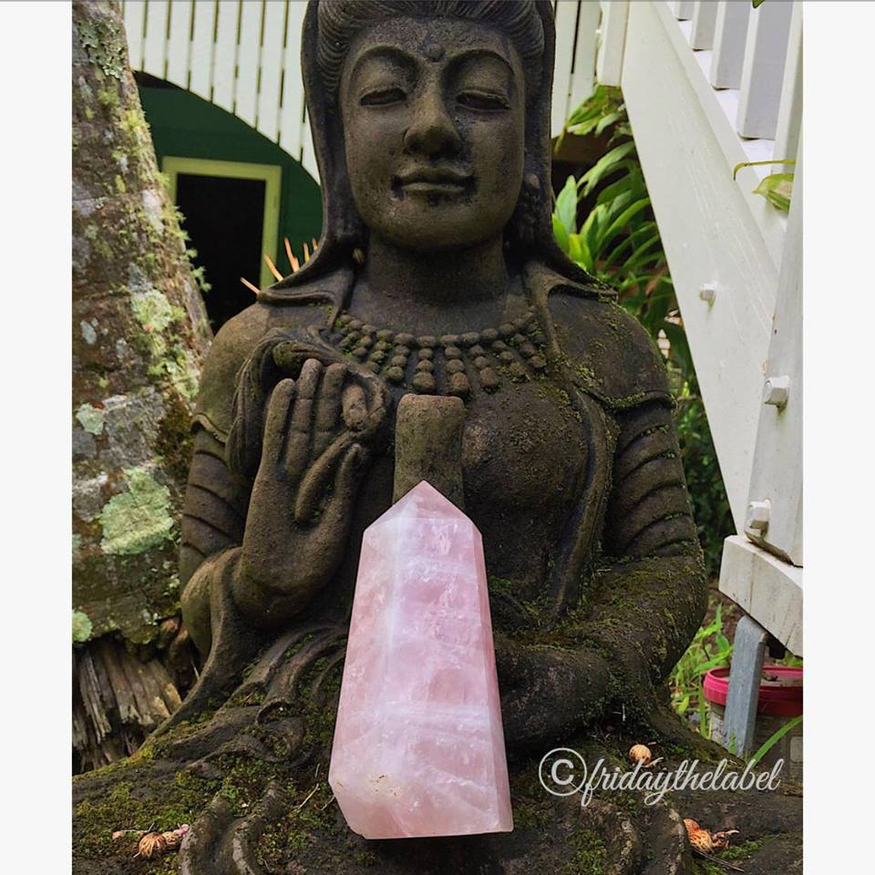 Large Rose Quartz Points
