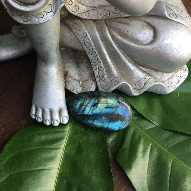 Polished Labradorite Palm Stones