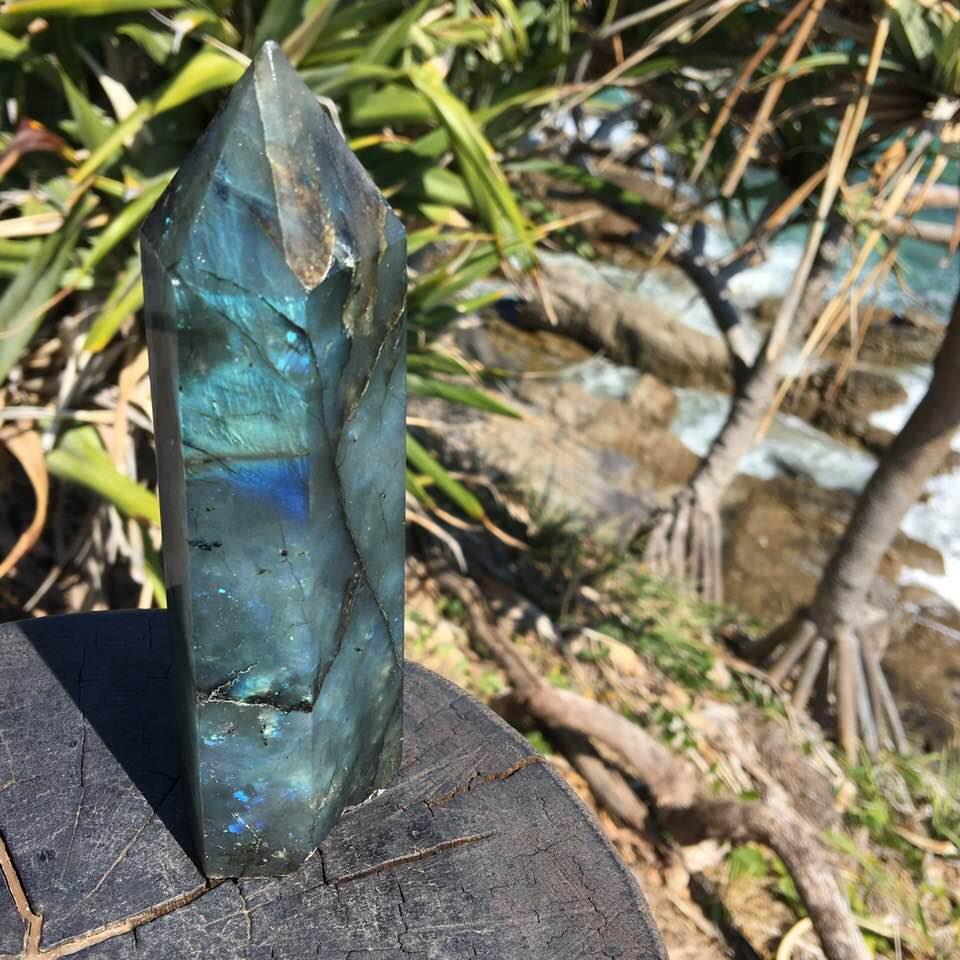 Labradorite Points