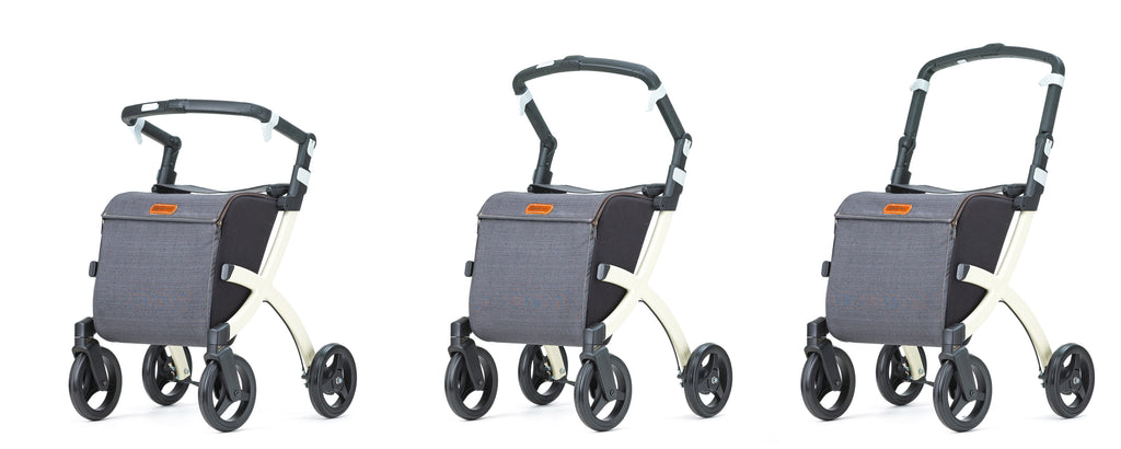 Rollz Shopper Rollator Walker Rollz Flex, Denim Grey - online Shop PHILmed 24 Gesundheit - 3