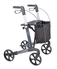 Rehasense lightweight Rollator Walker Router, grey - online Shop Philmed 24 Gesundheit