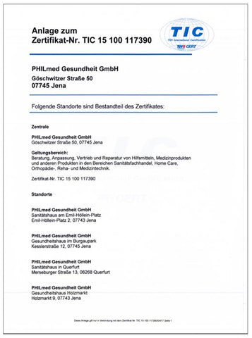 Philmed Zertifizierung TÜV International Certification_02