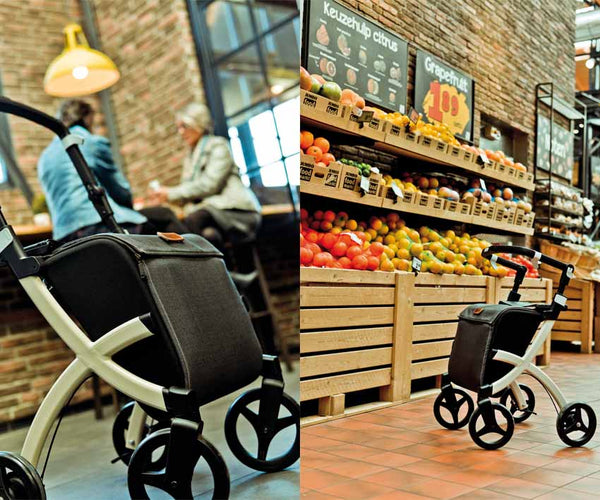 Rollz Shopper Rollator Walker Rollz Flex, Denim Grey - online Shop PHILmed 24 Gesundheit - 5