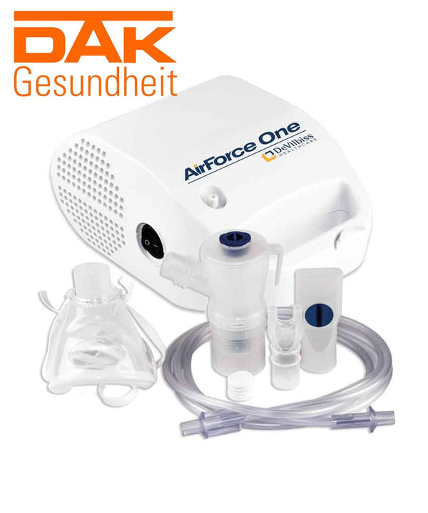 DeVilbiss AirForce One Kompressor Inhalator | Inhalator auf Rezept