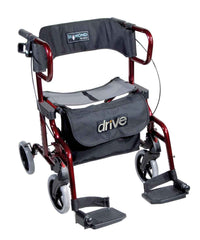 Drive Medical Rollator Diamond Deluxe, rot - Online Shop PHILmed Gesundheit